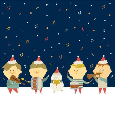 play music: christmas