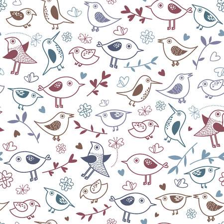 Cute bird. Background