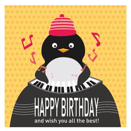 Piano penguin