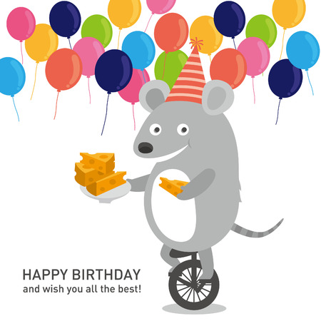 unicycle: birthday party