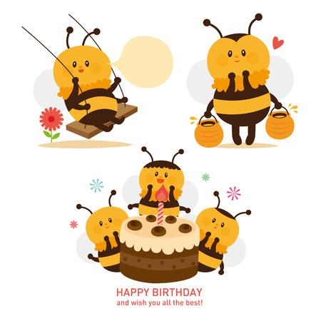 cute bee: cute bee