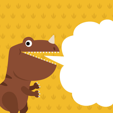 dialog box: Dinosaur and dialog box
