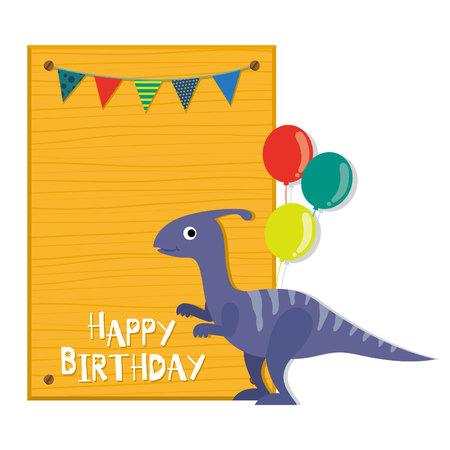 恐竜の招待状。