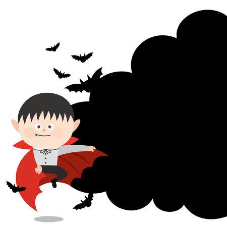 ドラキュラ吸血鬼漫画します。