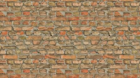 disheveled: Disheveled bricks render image