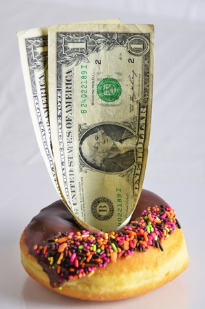certain: Bet dollars to donuts because you are certain you are right