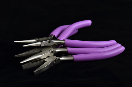crafting: Purple pliers for crafting