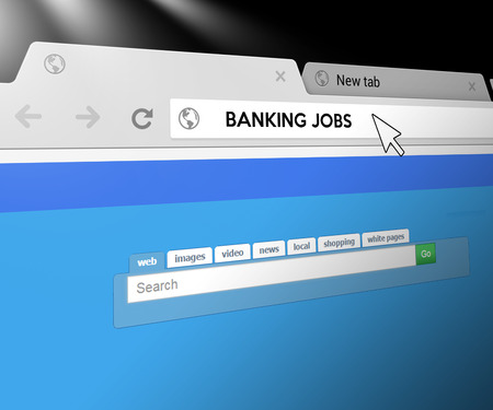 Banking Jobs - Web Search Bar