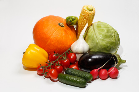 ingredients of salad can give many recipes of a diet