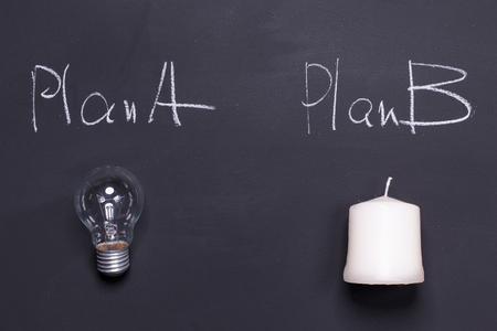 Plan B can be an original solution