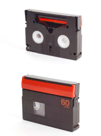 Two sides of mini-DV tape