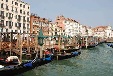 Gondolas in Venice near San-Marco square Stock Photo - 3908541