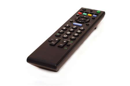 TVset remote control isolated on white background Stock Photo - 4487036