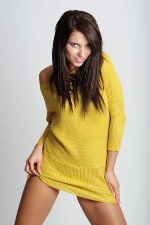 Sexy showgirl photo