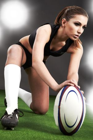 Rugby girl  photo