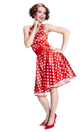 american sexy: Pin-up girl. American style