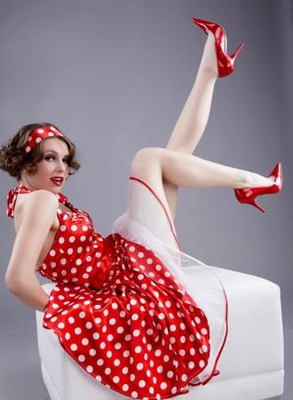 pinup girl: Pin-up girl. American style