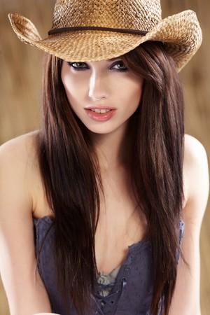 Beautiful Cowgirl  photo