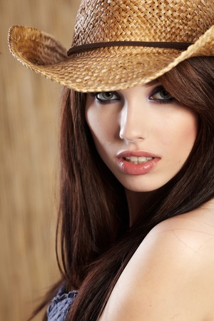Beautiful Cowgirl  photo