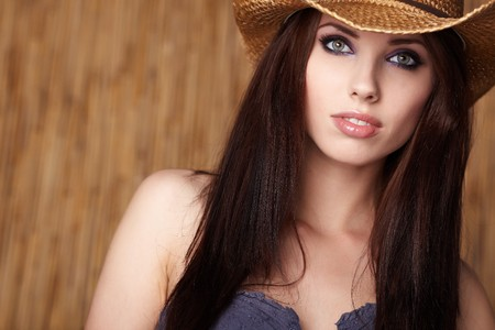 cowgirl and cowboy: Beautiful Cowgirl