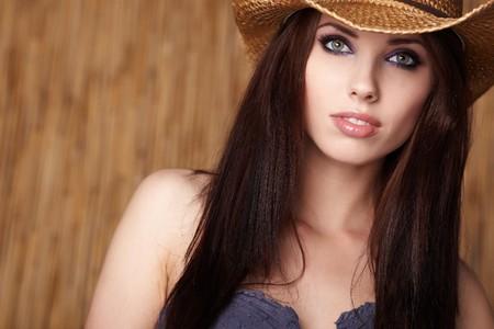 Beautiful Cowgirl Stock Photo - 7017126