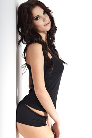 beautiful sexy girl  photo