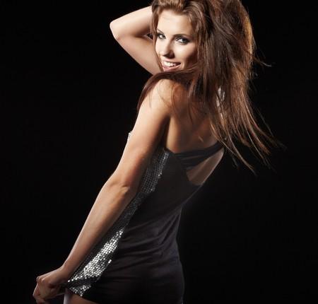 beautiful dancing girl Stock Photo - 7687680