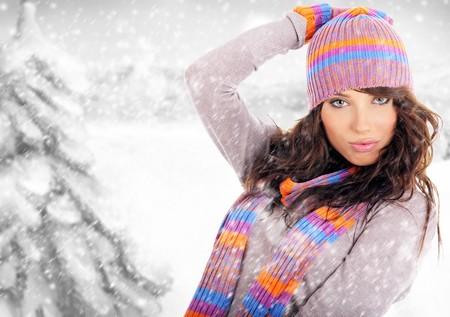 winter woman: Winter woman