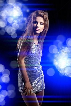 beautiful dancing girl  photo