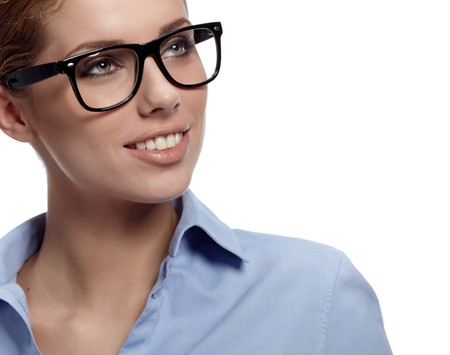 business woman in glasses  Stock Photo - 7887187