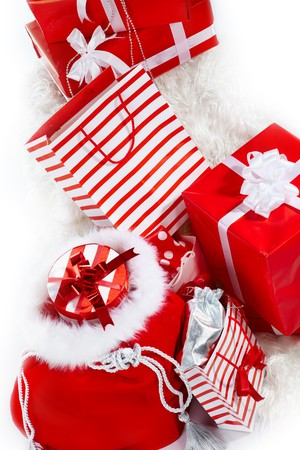 christmas gifts Stock Photo - 7946345