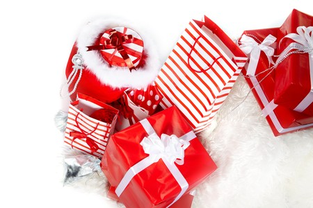 christmas gifts Stock Photo - 7946648