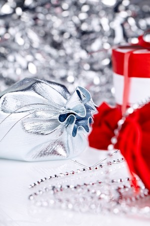 christmas gifts , macro shoot Stock Photo - 8063304