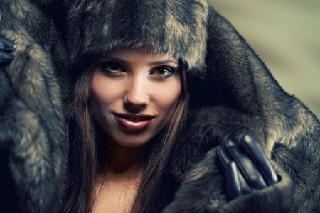 Winter  woman photo