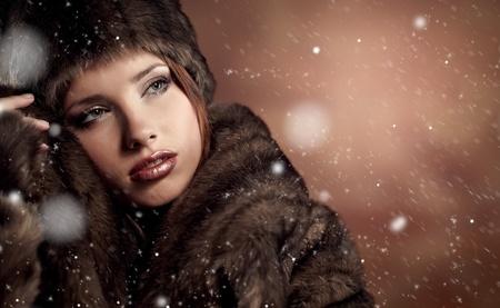 Winter  woman Stock Photo - 8630891