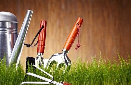 Garden tools Stock Photo - 9212243