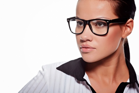 business woman in glasses  Stock Photo - 9569787