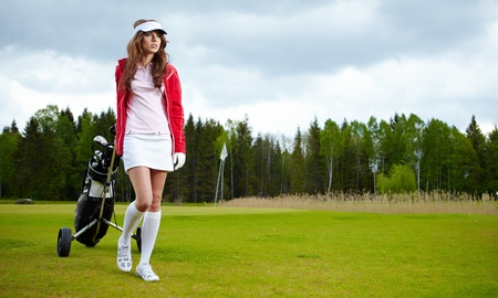 Golf Player Stock Photo - 9570421