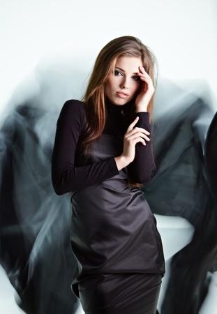 Black angel photo