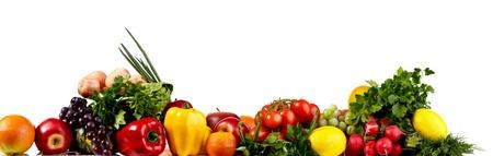fruit and vegetables: bio food