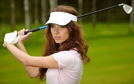 Golf Player Stock Photo - 9762720