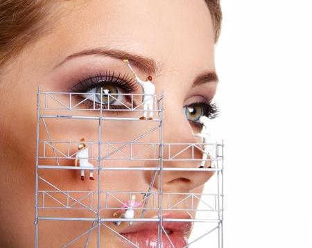 Make up painters photo