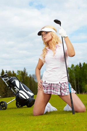 golf field: Womans Golf