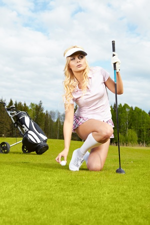Womans Golf  Stock Photo - 10074223