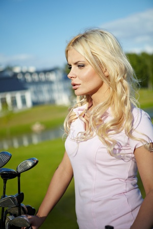 Womans Golf Stock Photo - 10069129