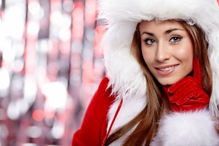 Christmas woman Stock Photo - 10629909