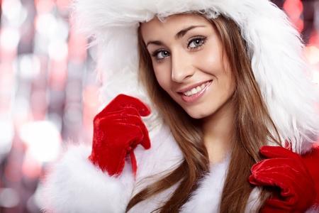 sexy xmas elf: Christmas woman