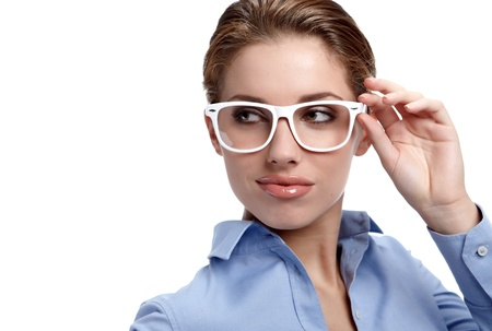 business woman in glasses Stock Photo - 10967136