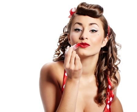Pin-up girl. American style  photo