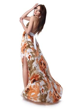 girl wearing a summer dress Stock Photo - 11072999